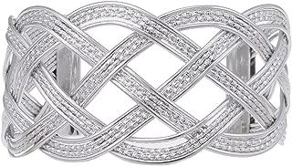Alilang Gold Greek Goddess Textured Woven Braid Arm Band Wrist Cuff Costume Adjustable Bracelet