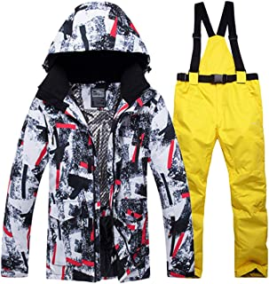 Ski Suit Men New XR Windproof Waterproof Thicken Male Clothes Coat Trousers Pants Winter Ski Snowboard Jacket