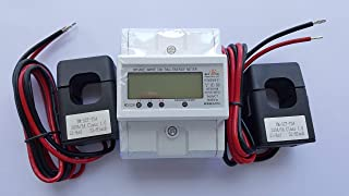Smart energy meter 1 2 or 3 phase 120V/480V. 2x200:5 Amps included