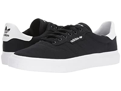 adidas Skateboarding 3MC (Black/Black/White) Men