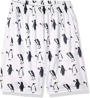 Lacrosse Shorts, Penguins with Lacrosse Sticks
