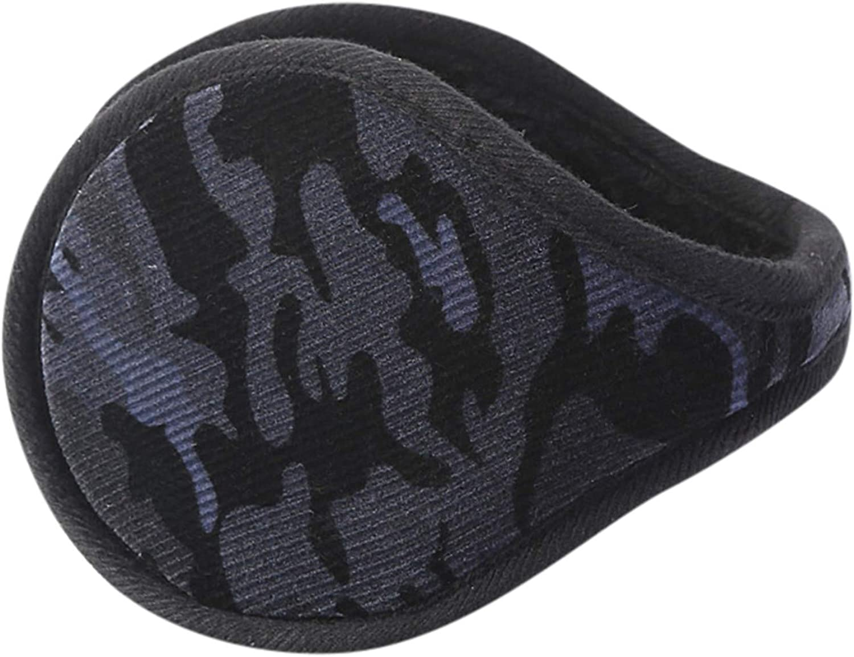 AJIUHE Ear Warmer For Men Women Winter Warm Cold Weather Earmuffs Behind The Head Style Fleece Running Yoga Riding Outdoor