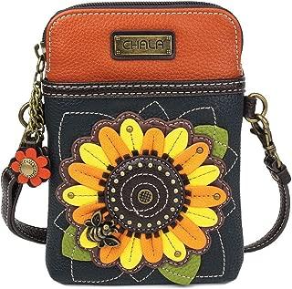 Chala Handbags Sunflower Cellphone Crossbody Handbag