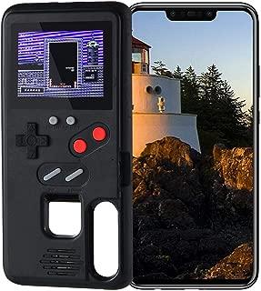 LAYOPO Gameboy Case for Huawei Nova3, Video Game Phone Case, Silicone Cover Retro 3D Gameboy Case Design for Huawei Nova3 (36 Small Games, Color Screen)