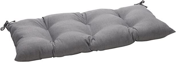 Pillow Perfect Indoor/Outdoor Rave Graphite Swing/Bench Cushion