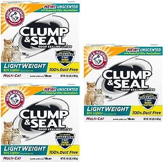 Arm & Hammer Clump & Seal Lightweight Unscented Clumping Cat Litter (27 LBS)