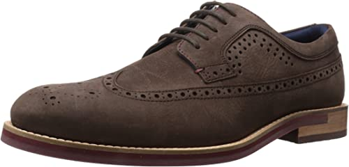 Ted Baker Hommes's FANNGO Uniform Robe chaussures, marron, 8 M US