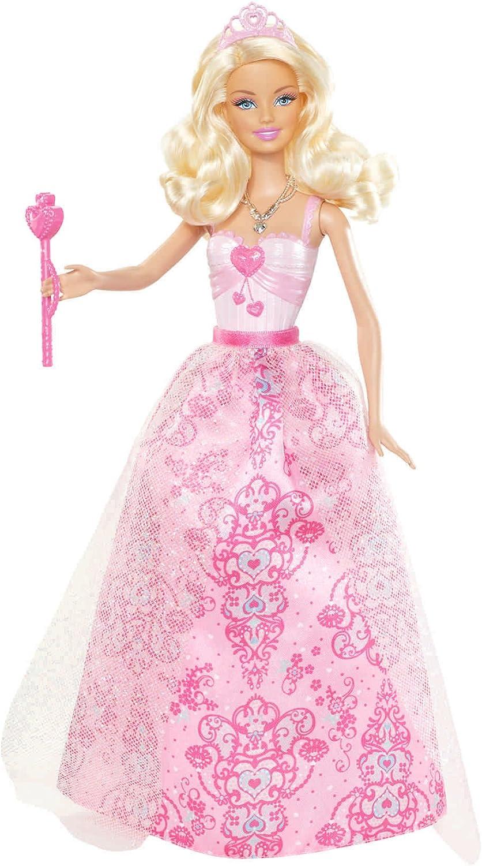 Barbie Princess Pink Dress Doll  2012 Version