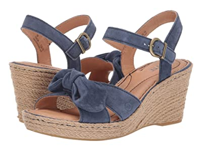 Born Monticello (Navy Suede) Women