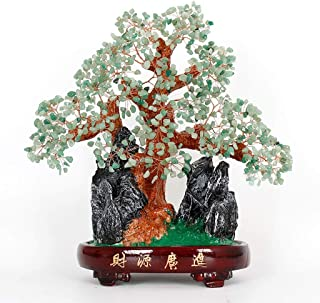 Feng Shui Crystal Tree Crystal Tree Lucky Tree Home Living Room Decoration Crafts Gift Money Tree Decoration Bonsai Style ...