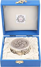 MSA JEWELS 92.5 Pure Silver Designer Box Certified By BIS Hallmark with Exclusive Box (7.5 X 3.75 cm, 132 GM)