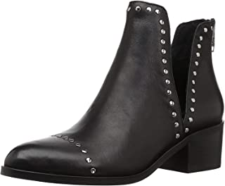 Steve Madden Conspire Black Leather Bootie