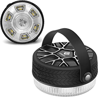 Etekcity Camping LED Lantern Portable Rechargeable Mini Emergency Lantern with Magnetic Base, Suit for Fishing, Reading, Hurricane, Storms, Outage, 7 Lighting Modes, 300 Lumens