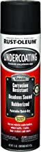 Rust-Oleum 248656 Automotive Professional Rubberized Undercoating, 15 Oz, Can, Aerosolized Mist, Black