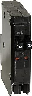 Square D by Schneider Electric QOT1520 QO 1-15-Amp 1-20-Amp Single-Pole Tandem Circuit Breaker