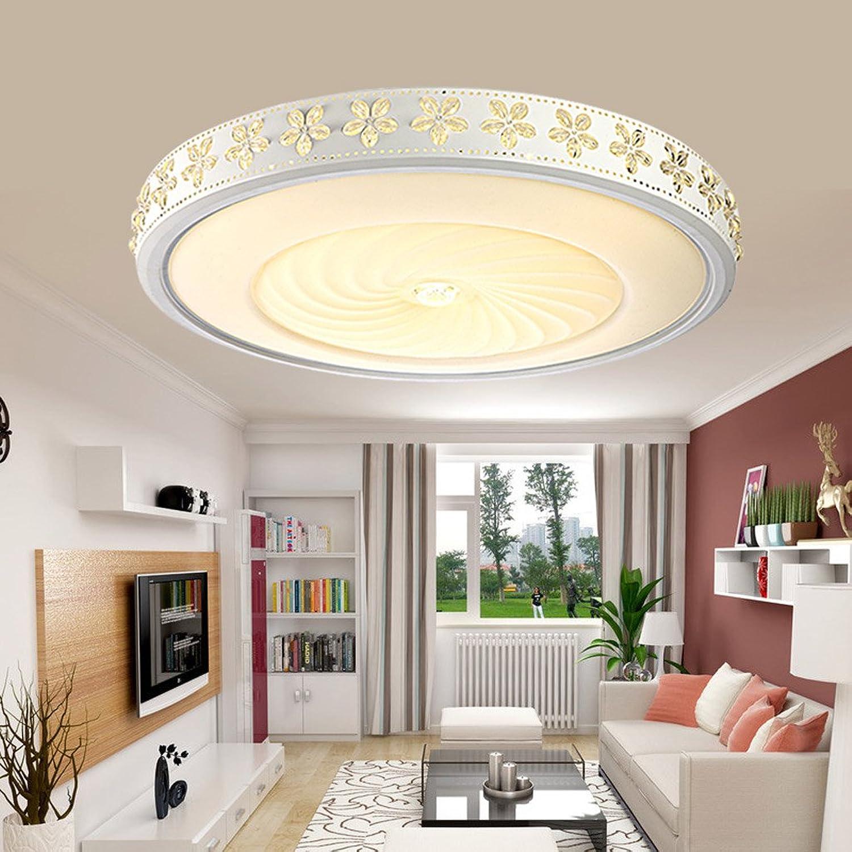 Fu Man Li Trading Company LED-Deckenleuchten Runde Schlafzimmer Lampe Raumleuchten Raumleuchten Raumleuchten Lampen Lampen Modern Simple European Style Room A (größe   52  12cm(32W)) B073T7QQZY | Vielfalt  942038