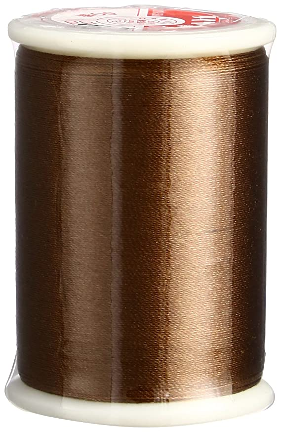 Superior Threads 13601-020 50 WT Tire Filament Silk Thread, Brown, 109 yd