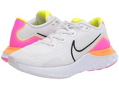 Nike Renew Run (Platinum Tint/Black/White/Pink Blast) Women