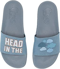 Head in the Clouds Lightweight Linen Metallic
