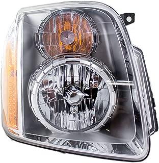 Passengers Headlight Headlamp Replacement for GMC Yukon Denali & XL Denali SUV 20969897