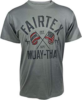 Fairtex Flag T-Shirt Asphalt