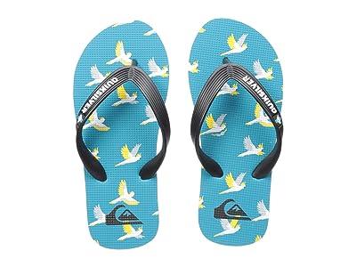 Quiksilver Kids Molokai Art (Toddler/Little Kid/Big Kid) (Black/Blue/Grey) Boys Shoes