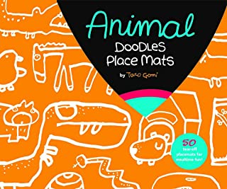 Animal Party Doodles Place Mats