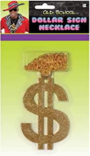 amscan Old School Dollar Sign Necklace