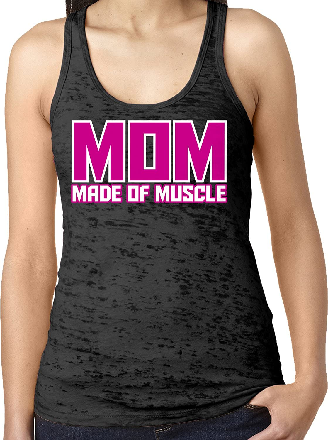 MILF Mom In Love With Fitness ladies t-shirt gym mum present mothers day gift