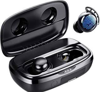 $41 » Sponsored Ad - Wireless Earbuds,Bluetooth 5.0 Earbuds Touch in-Ear Wireless Earphones,24 Hours Play Time with Charging Case