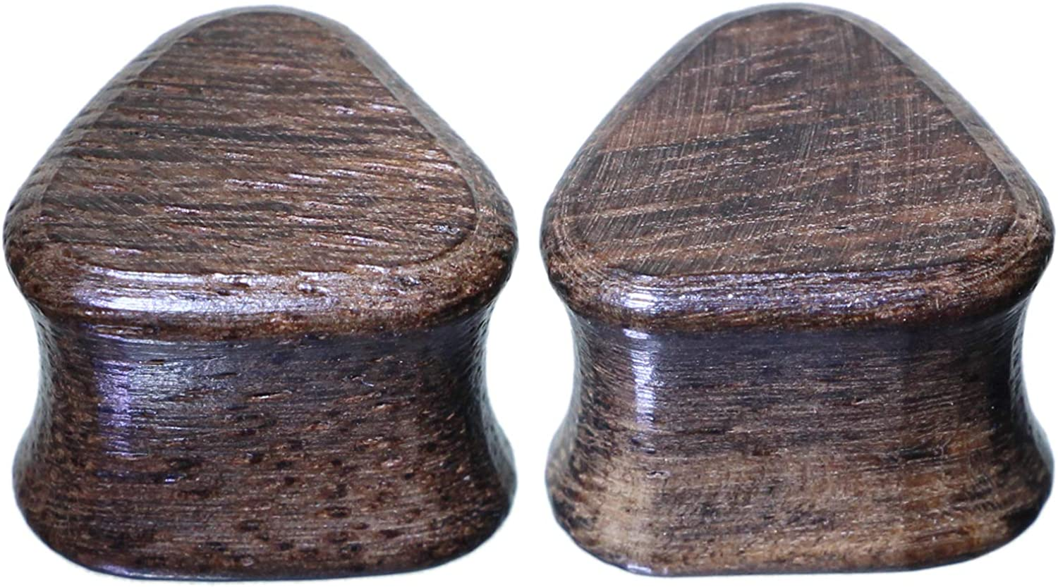 Rare Triangle Organic Black Rosewood Gauges Austin Mall Plugs Popular products Ear Stretching