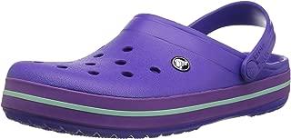 Crocs Men's and Women's Crocband Clog | Comfortable Slip on Casual Water Shoe