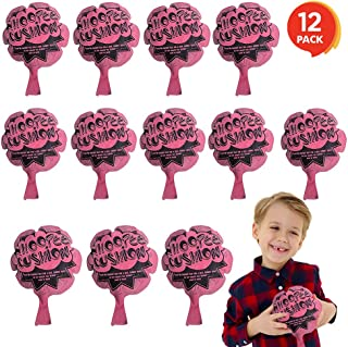 ArtCreativity 6 Inch Mini Fart Whoopee Cushions - Set of 12 - Fun Whoopee Noise Makers for Kids and Adults - 100% Non-Toxi...