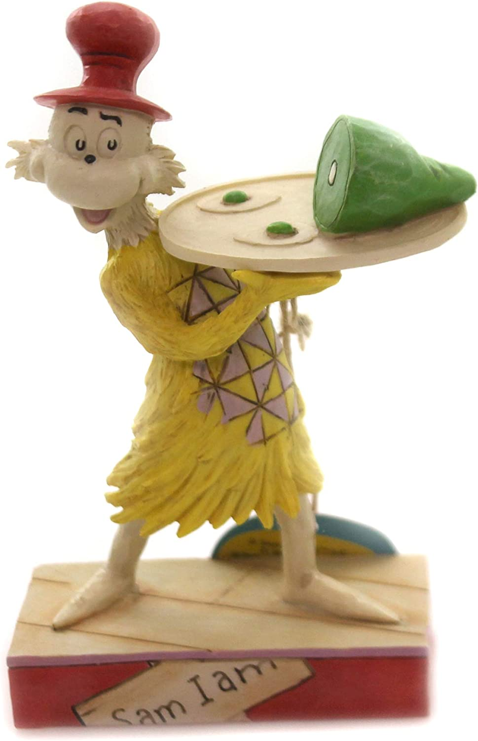Jim Shore Dr Seuss Sam I Am Green and with Under blast sales Figurine Eggs Ham Today's only 600