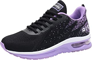Impdoo Women's Air Athletic Running Sneaker Cute Fitness Sport Gym Jogging Tennis Shoes (US5.5-10 B(M)