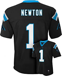 Cam Newton Carolina Panthers #1 Black Toddler Mid Tier Home Jersey