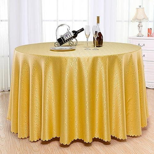BSNOWF- Tischdecken Hotel Restaurant Tischdecke Kaffee Bankett Runde Tischdecke Esstisch Stoff Kann individuell angepasst werden Tuch Größe Optional ( Farbe   B , Größe   Round- 240cm )