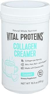 VITAL PROTEINS Collagen Creamer Coconut, 10.2 Ounce