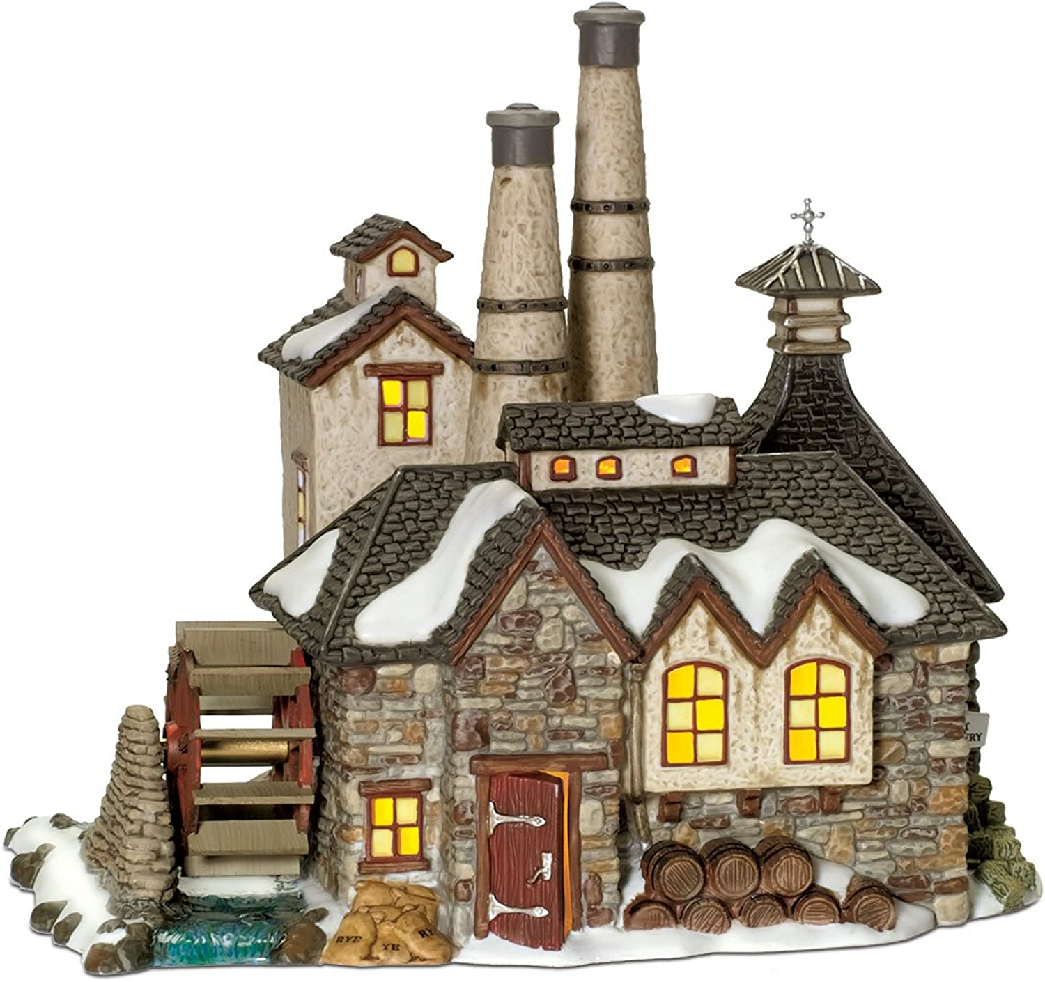 Department 56 Dickens' Village London Gin Destillery