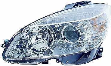 Depo 340-1130L-AFN Head Lamp Assembly (Mercedes Benz C Class Fm 2/9/08-11 Halogen Chrome Driver Side Nsf)