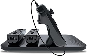 dreamGEAR Wii U Concert Charging Dock Pro Wirelessly Charges Wii U GamePad and 2 Wii Remotes Simultaneously
