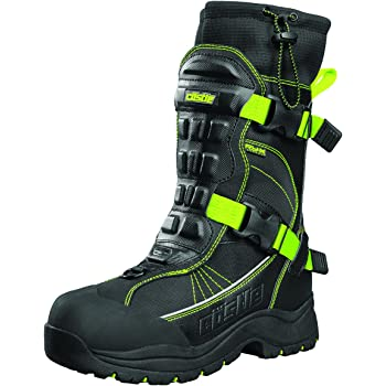 Castle X Force 2 Mens Snowmobile Boot Gray 8