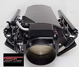LS1 LS2 Black Low Profile Sheet metal Intake Manifold W/Rails and Throttle Body