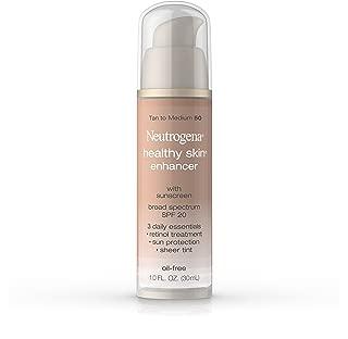 Neutrogena Healthy Skin Enhancer Broad Spectrum Spf 20, Tan To Medium 50, 1 Oz.