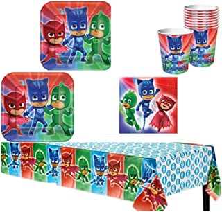 PJ Mask Party Supply Kit for 16 Guests