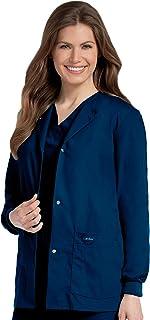 Landau Women's Warm-up Scrub Jackets Medical Scrubs Shirt