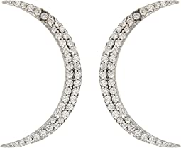 SHASHI - Crescent Earrings