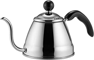 Fino 6576 Pour Over Coffee Kettle, 4 1/4-Cup, Silver