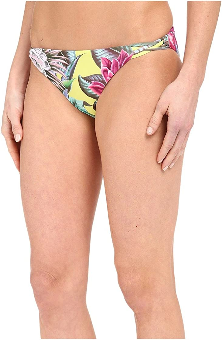 Mara Hoffman Women's Reversible Basketweave Bikini Bottom Swimsuit