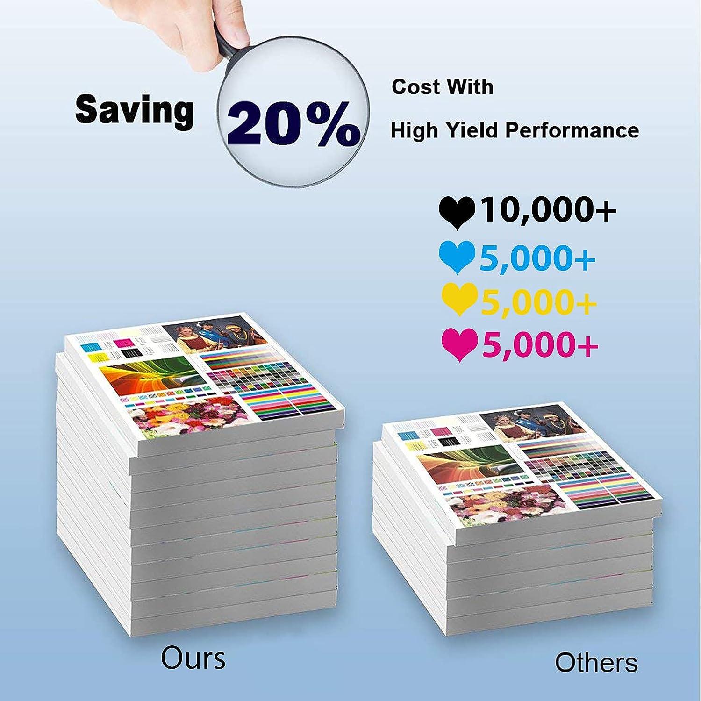 1-Pack (Black) Compatible High Yield TK-5135 (TK-5135BK) Laser Printer Toner Cartridge Used for Kyocera TASkalfa 265ci, 266ci Printer